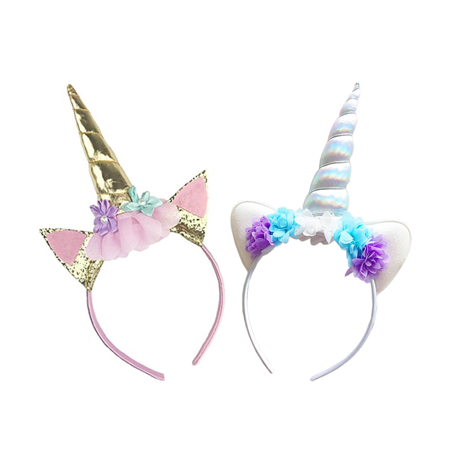 Amazon.com   Cute Unicorn Horn Headband 8c64160c74e