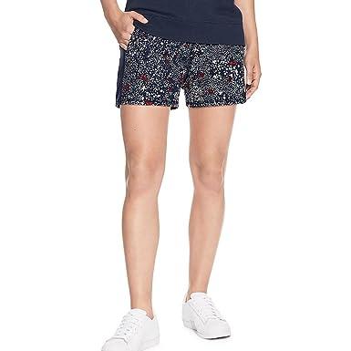 308934e95b58 Champion Women s Heritage French Terry Stripes Shorts at Amazon ...