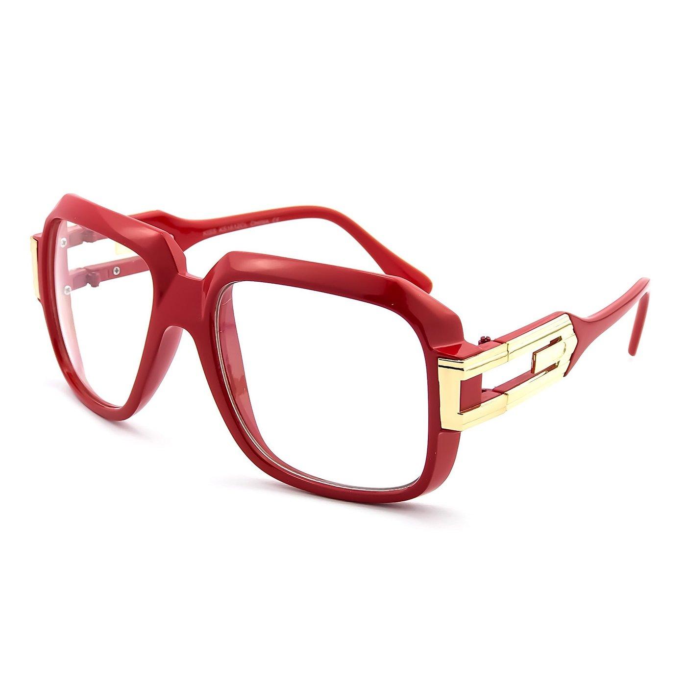 Glasses neutral KISS - OLD SCHOOL mod. BURST - optical frame HIP-HOP man woman VINTAGE PROD1237-NER1555