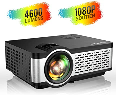 TOPTRO - Mini proyector portátil 4500 lúmenes con Soporte Full HD ...