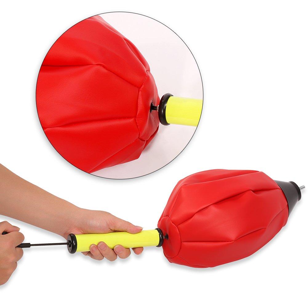 Punching Bag, altura ajustable de pie bola de velocidad de boxeo ...