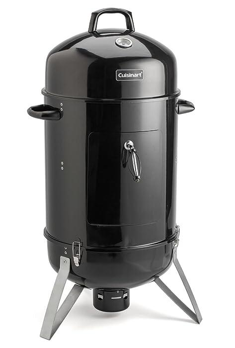 "Cuisinart COS-118 Vertical 18"" Charcoal Smoker, Inch, Black"