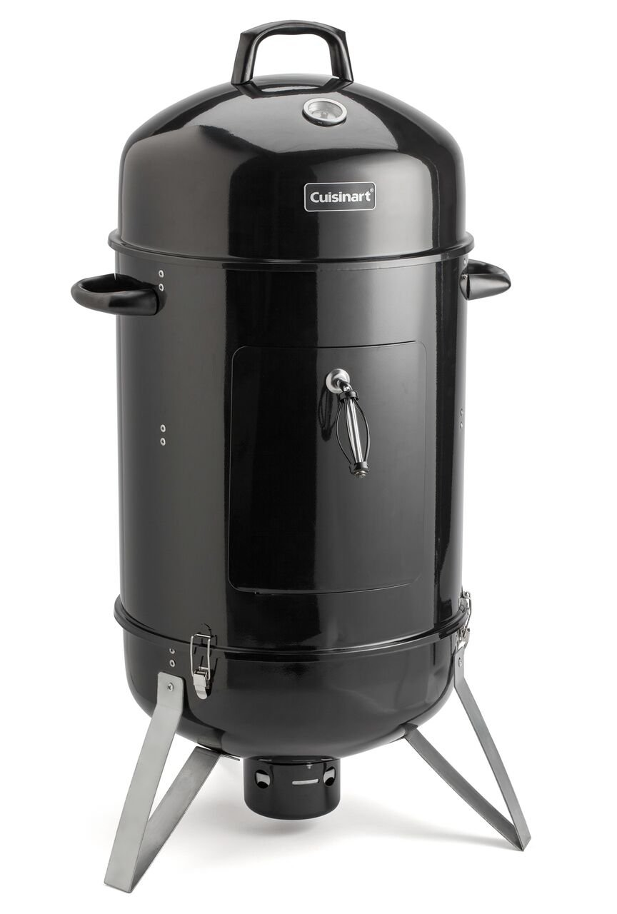 Cuisinart COS-118 Vertical 18'' Charcoal Smoker, Black