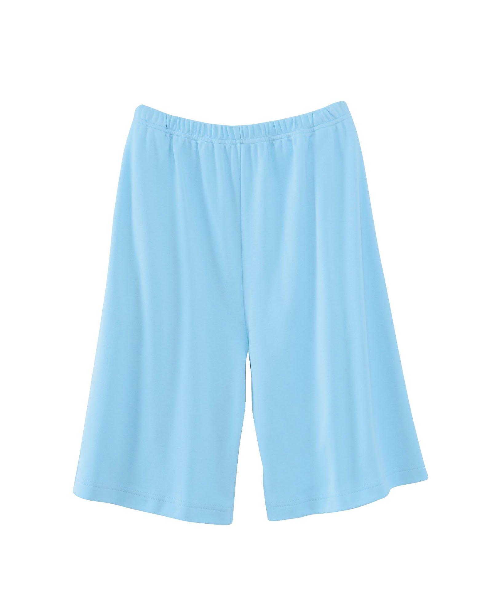 UltraSofts Knit Shorts, Aqua, 3X