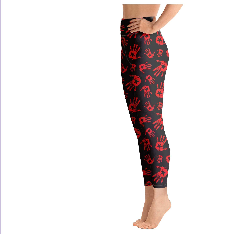 Amazon.com: Pantalones de yoga para mujer con cintura alta y ...