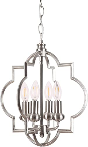 Homenovo Lighting Mersey 4-Light Chandelier