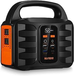 NUSGEAR 155Wh AC出力100W ポータブル電源