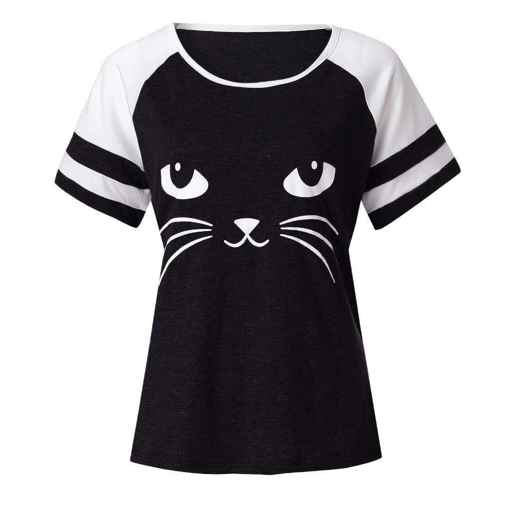 MERICAL T-Shirts /à Manches Courtes pour Femmes