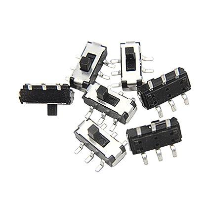 Amazon Com Wmycongcong 50 Pcs Smt Smd Auto Lock Micro Slide Tact