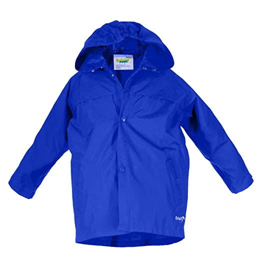 Splashy Nylon Children's Rain Jacket
