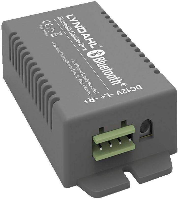 Lyndahl Amplificador Bluetooth de 4 Canales + AUX, CS200BT-AMP para hasta 4 Altavoces Espacio 1