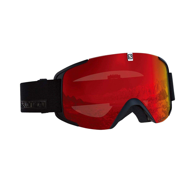 サロモン(SALOMON) スキー スノーボード ゴーグル XVIEW Black/Univ.Mid Red (エックスビュー) L40518900 B07DQD9ZPX