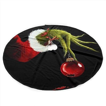 grinch stole christmas office decorations holiday decoration carmen belinda christmas tree skirt the grinch stole xmas decorations skirts decor holiday amazoncom