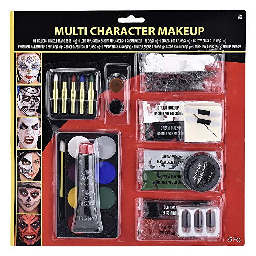 Hallo Makeup Halloween Costume Accessories Makeup Multi-Character