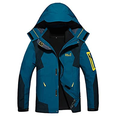 b776ae8b1cfde Dnstar Men s 3in1 Fleece Big and Tall Jackets Winter Coats Navy Blue 2XL