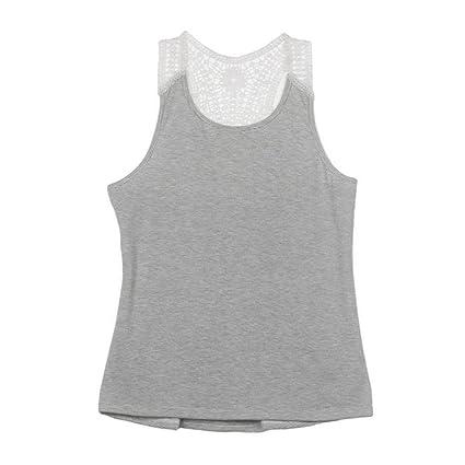 4da85879bd Amazon.com  Forthery Tank Tops Women Summer Lace Vest Sleeveless ...