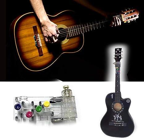 BLMY Guitar Aids Ayuda de enseñanza de guitarra Acorde clásico ...