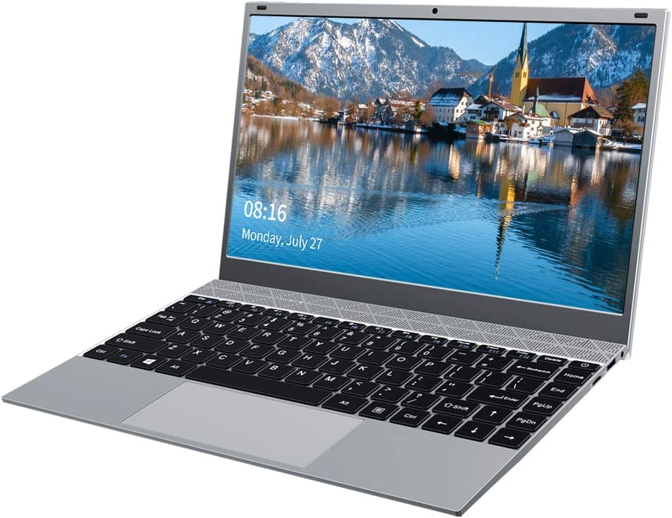 KUU XBook Ordenador Portátil 14.1'', Notebook Inter Celeron J4115, 8GB RAM DDR4 256GB SSD, Monitor de PC portátil FHD con USB 3.0 y Bluetooth 4.2, portátil con Windows 10