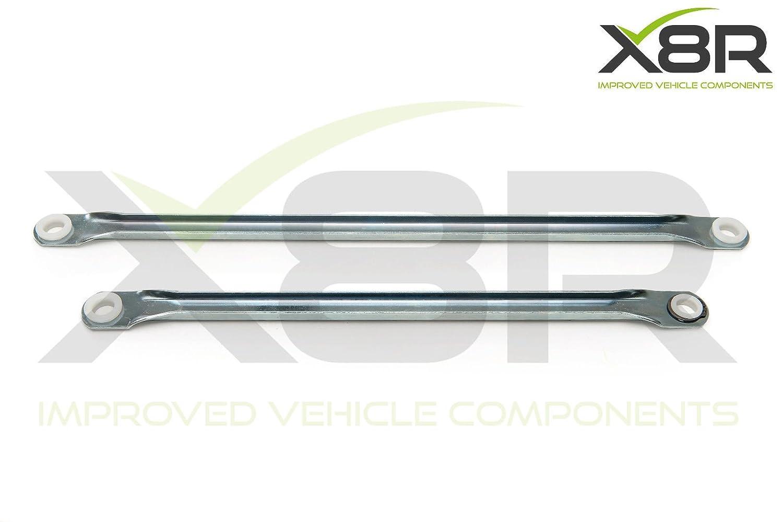Opel Vectra C Signum parabrisas Kit de varillas de empuje para acoplamiento del limpiaparabrisas brazos Repair Fix Part: x8r0083: Amazon.es: Coche y moto