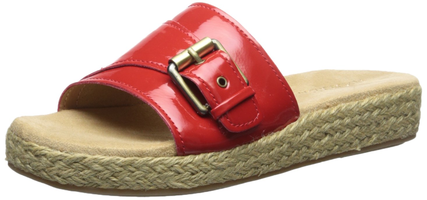 Aerosoles Women's Glorify Platform Sandal B01BZAN5H8 8 B(M) US|Red Patent