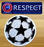 UEFA Champions League UCL + RESPECT 2012 Iron On Soccer Patch