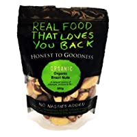Honest to Goodness Organic Brazil Nut Kernels, 200 g