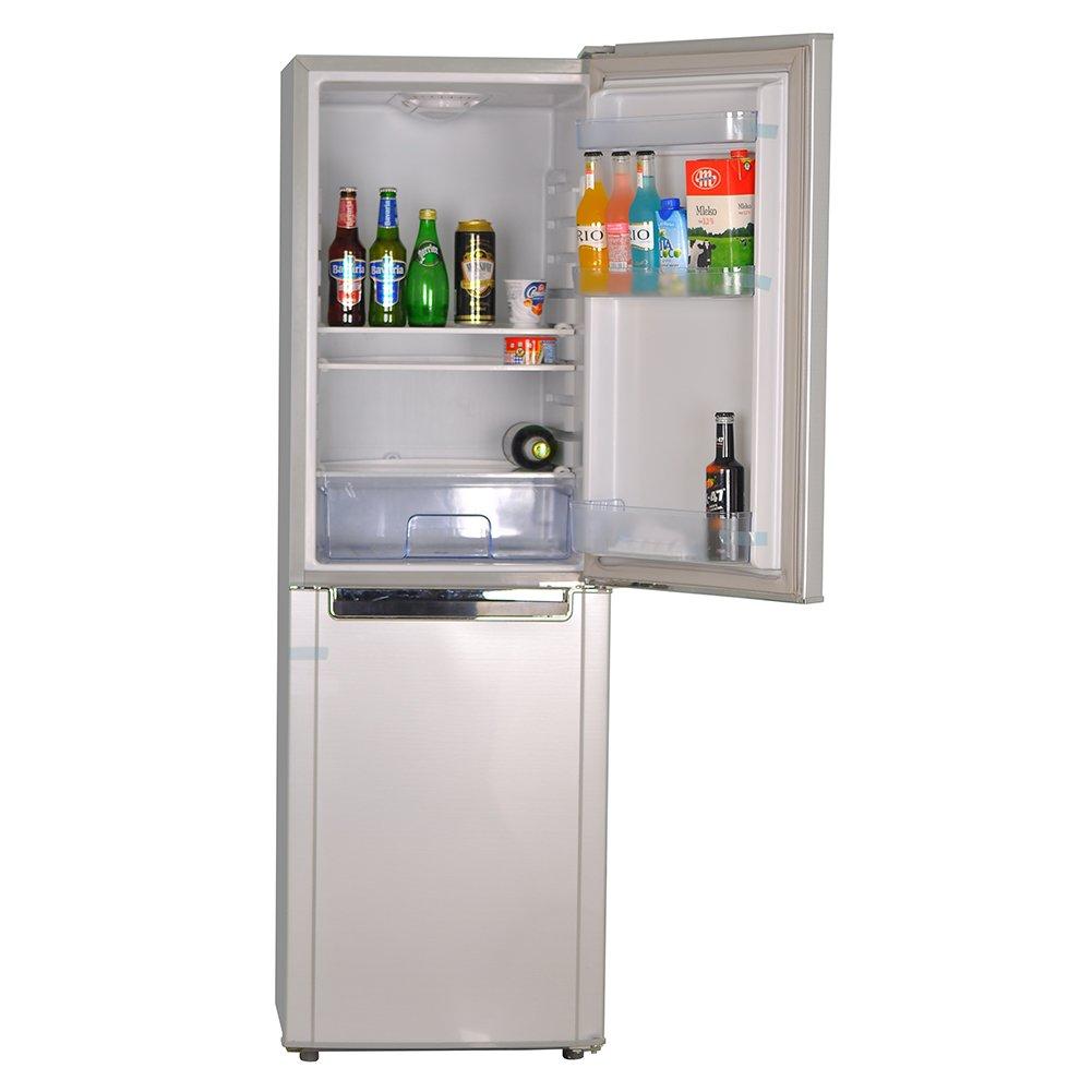 Smad 72W Solar Refrigerator with Freezer,7 Cu Ft, Double Doors, Low Voltage