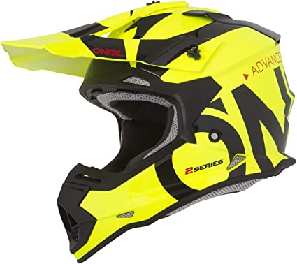 ONeal 2Series RL Slick Motocross Helm MX Enduro Gelände Quad Cross Motorrad Bike Schutz
