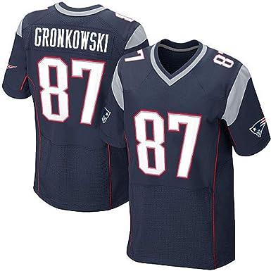 Yanbeng NFL Rugby Fan T-Shirts Patriots NO.87 Camisetas de ...