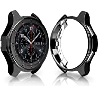 Cooljun Compatible pour Samsung Galaxy Watch 46mm,Couvercle de Protection Ultra-Mince en placage TPU