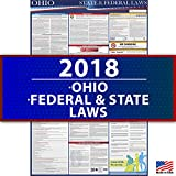 2018 Ohio State and Federal Labor Law Poster - UV Coated 36'' x 24'' - Osha Compliant