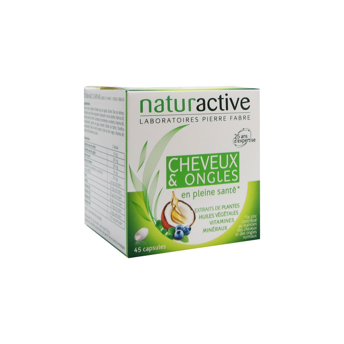 Naturactive Hair And Nails 45 Capsules