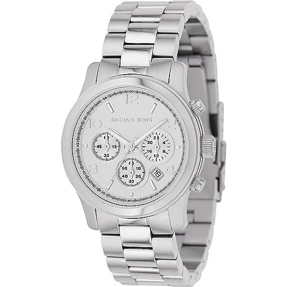 22fe6ea499a9 Michael Kors Women s Runway MK5076 Silver Stainless-Steel Quartz Fashion  Watch  Amazon.ca  Watches