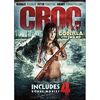 471702b7eb Amazon.com  5-Movie Maneater Collection  Croc  Godzilla of the Swamp ...