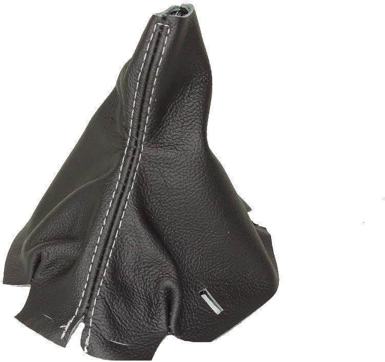 automatische Schaltsack schwarz Leder grau Naht F/ür Mercedes W204/2007 2014