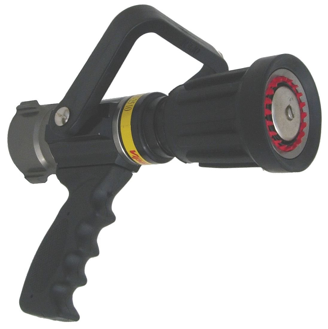 National Fire Equipment - ST2510-PV - Fire Hose Nozzle, 1-1/2 In., Black