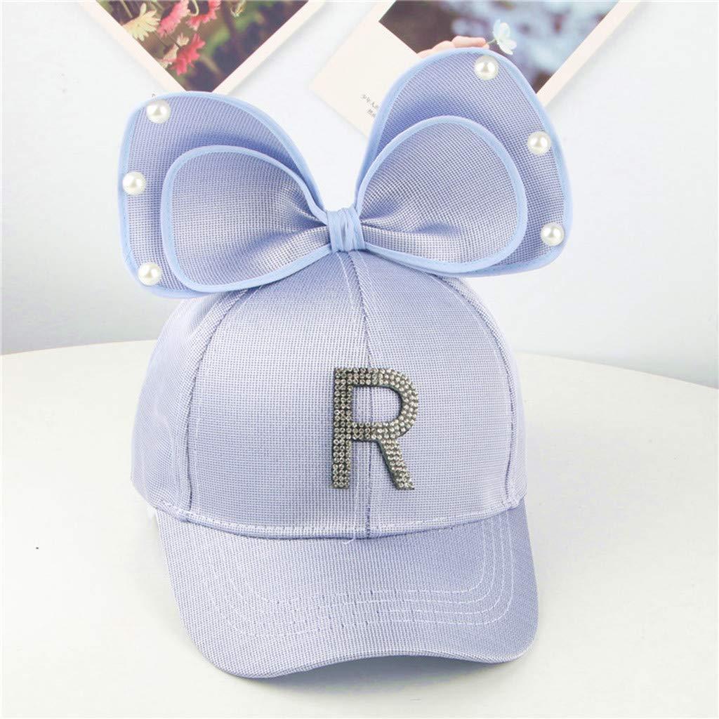 Amuse-MIUMIU - Gorra de béisbol para niños, diseño de Letra de ...