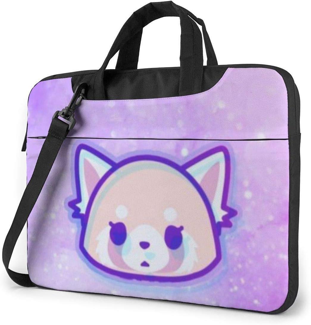 Aggretsuko Laptop Sleeve Bag Case 15.6 inch MacBook Air Pro Notebook Sleeve Case Portable Briefcase Tote Cases