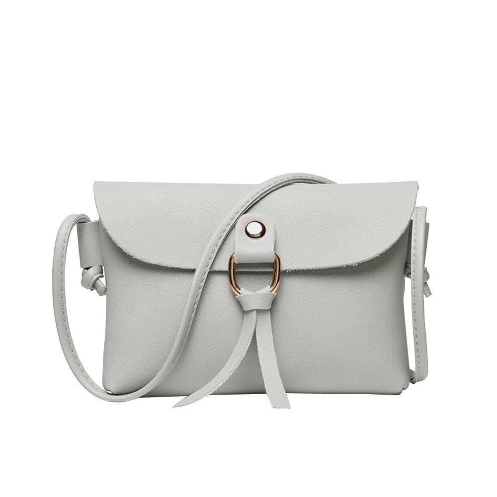 TIFENNY Women Fashion Casual Solid Cover Tassels Crossbody Bag Shoulder Bag Convenience Phone Coin Bag