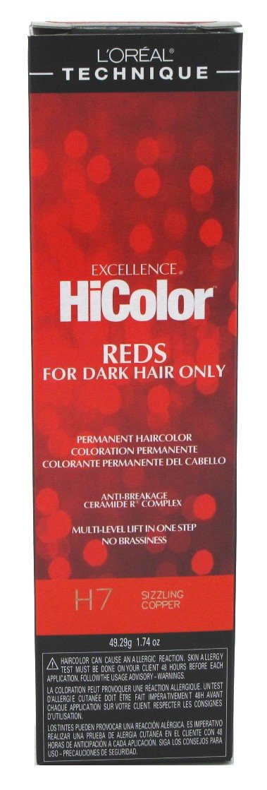 L'Oreal Excellence HiColor Sizzling Copper, 1.74 oz