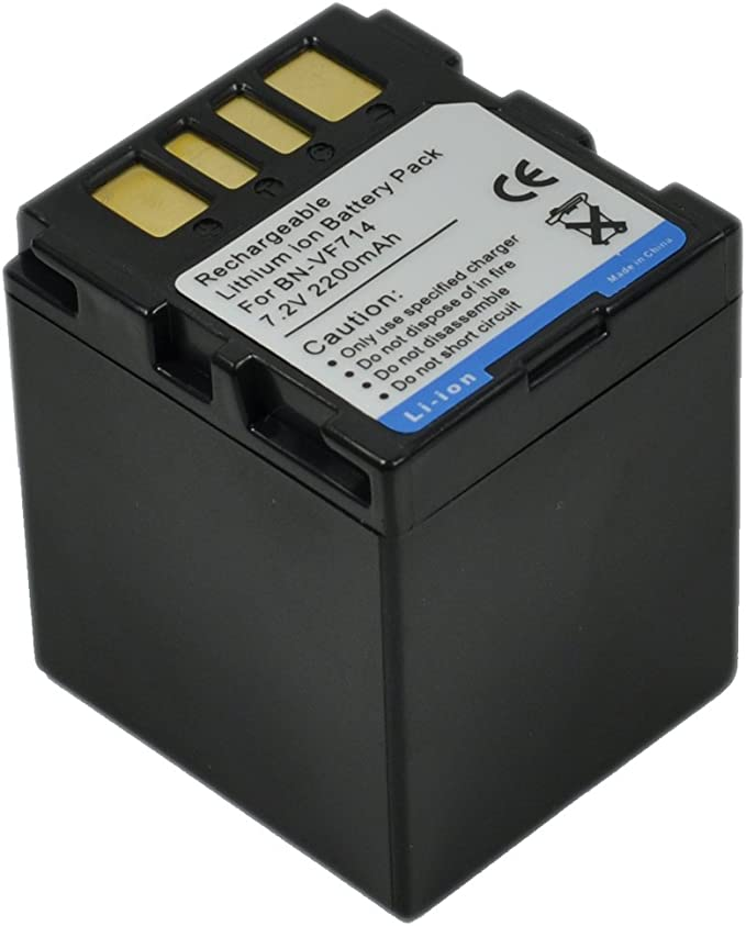 Pack De Batería Para Jvc Bn-vf707u Bn-vf714u Bn-vf733us Nuevo