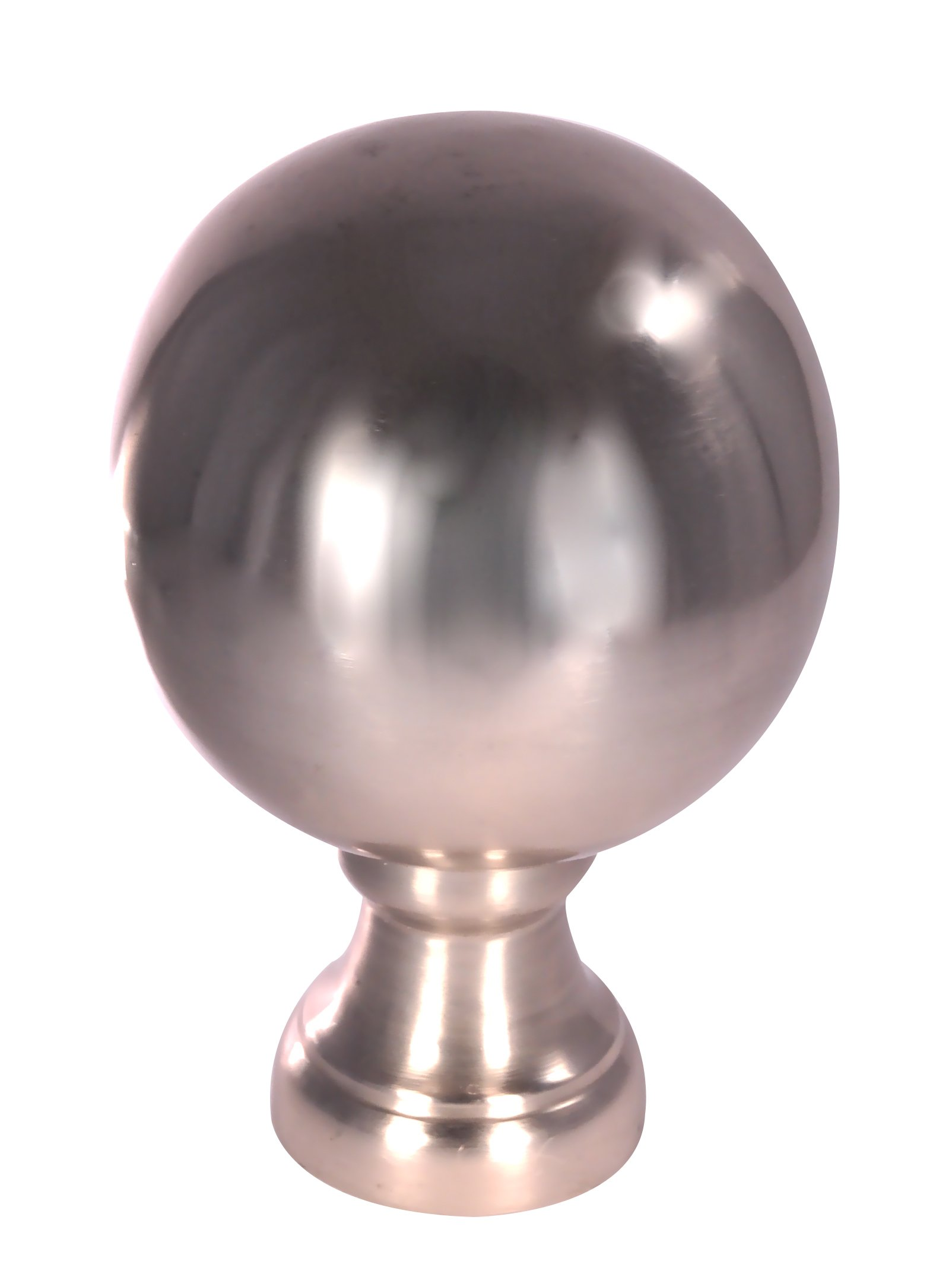 Dalvento Large Londoner Finial- Nickel Brushed