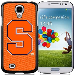Beautiful Designed With NCAA Atlantic Coast Conference ACC Footballl Syracuse Orange 1 Protective Cell Phone Hardshell Cover Case For Samsung Galaxy S4 I9500 i337 M919 i545 r970 l720 Phone Case Black