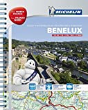 Benelux and North of France - A4 spiral atlas (Michelin Tourist and Motoring Atlas)