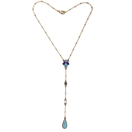 Amazon.com  ptk12 Aliexpress Long Pendant Necklace New Design Bijoux ... d44f8b10c6b