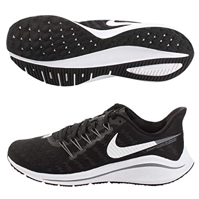 a3c7dc2c2619d Nike Men s Air Zoom Vomero 14 Running Shoes Black White Thunder Grey 001