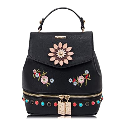1665418eaa93 RenDian Women's Mini Cute Fashion Backpack Purse Anti Theft Leather  Shoulder Bags, for Travel/School/Leisure