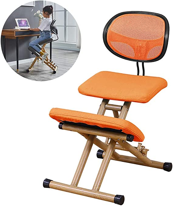 DBWIN Sgabello ergonomico, con Supporto per la Schiena ...