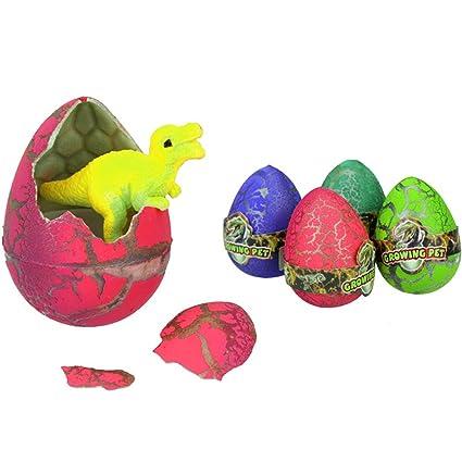 Confezione da 3 uova Dinosauro magiche Hatch-Grow Dino regalo di Pasqua del