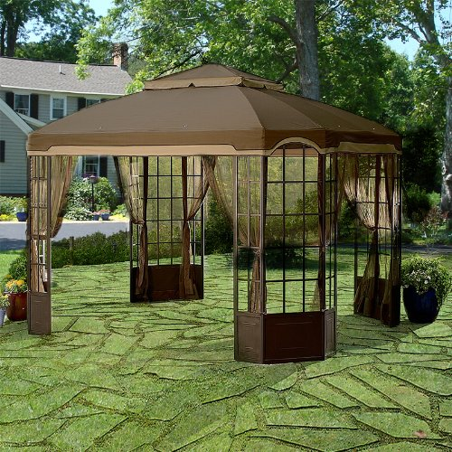 Garden Winds Replacement Canopy for Sears and Kmart Bay ...